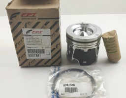 8097861 Piston with Rings and Pin Iveco Genuine
