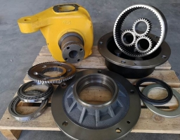 JCB 3CX front axle reduction parts & swivel housing