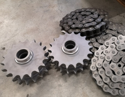 4201492 Sprocket wheel  549403002 Roller chain