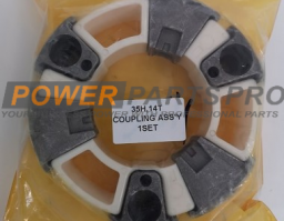 35H Coupling Rubber for Hitachi EX120-6 EX130-6 Kobelco SK55 Doosan DH80-5